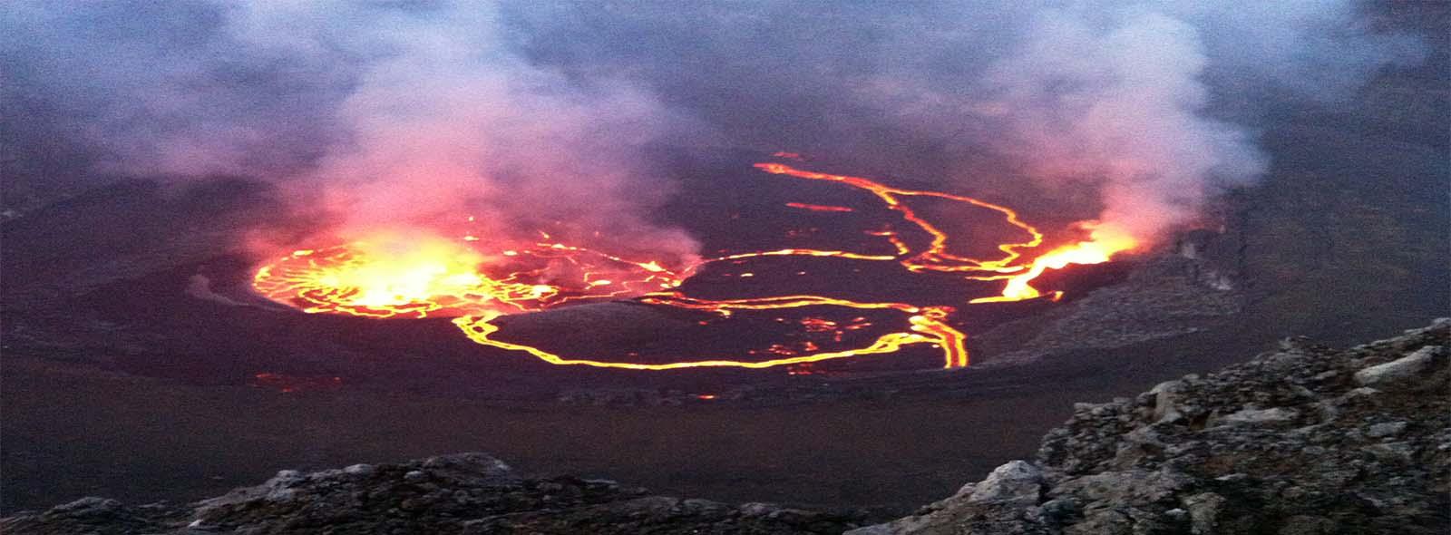 Nyiragongo active lava